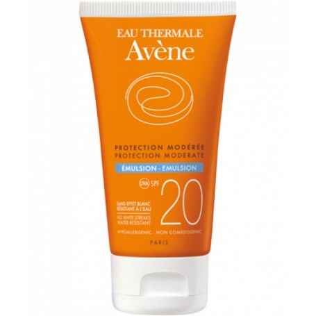 Avene Emulsione Solare Protezione media 20 pelle sensibile normale mista