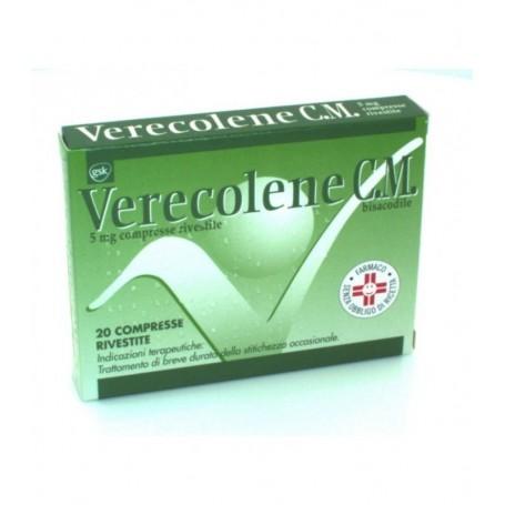 Verecolene Cm*20cpr Riv 5mg