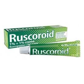 Ruscoroid*rett Crema 40g 1%+1%