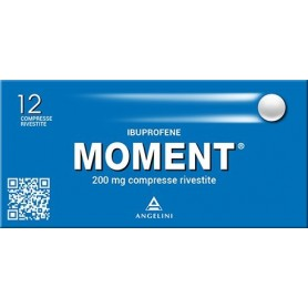 Moment 12 compresse rivestite 200mg Mal di Testa Dolori