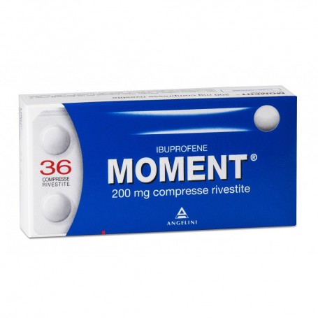 Moment 36 compresse rivestite 200mg Mal di Testa Dolori