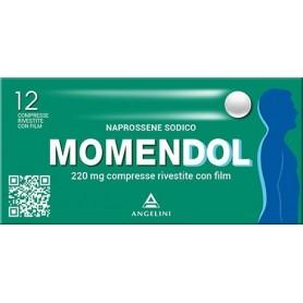 Momendol 12 compresse rivestite 220mg Dolori articolari e Muscolari