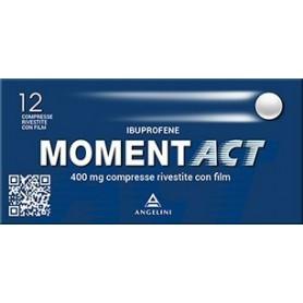 Momentact 12 compresse Rivestite 400mg Mal di Testa Dolori