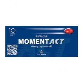 Momentact 10 capsule Molli 400mg Mal di Testa e Dolori