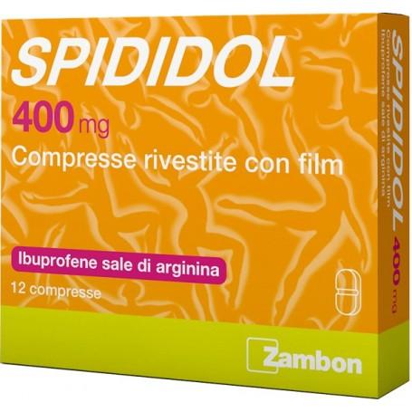 Spididol 12cpr Riv 400mg Ibuprofene Zambon