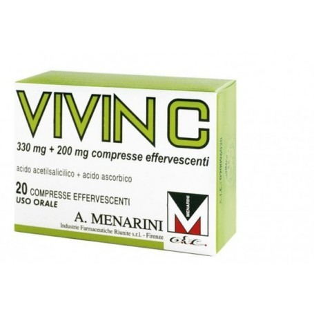 Vivin C*20cpr Eff 330mg+200mg