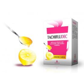 Tachifludec 10 buste Limone e Miele influenza e raffreddore
