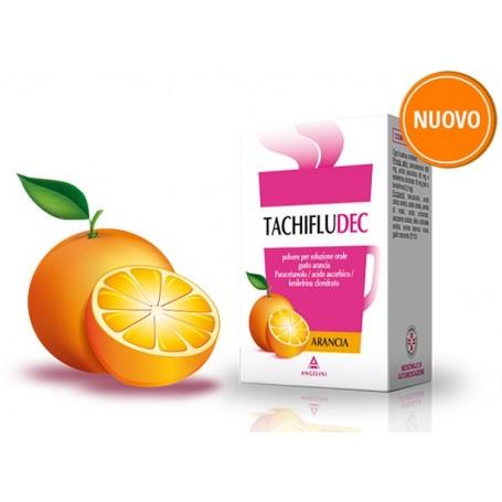 Tachifludec 10 buste Arancia inluenza e raffreddore