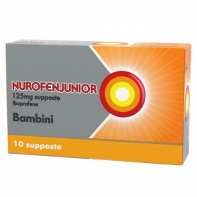 Nurofenjunior 10 supposte 125mg Bambini