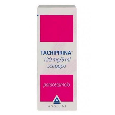 Tachipirina Sciroppo 120ml 120mg/5 Febbre e Dolori