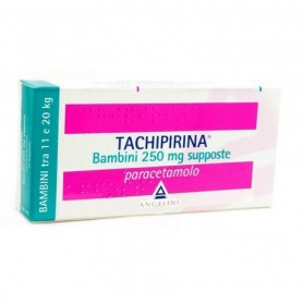 Tachipirina Bambini 10 supposte 250mg Febbre Dolori