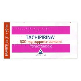 Tachipirina Bambini 10 supposte 500mg Febbre Dolori