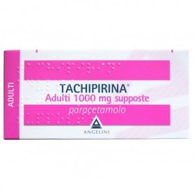 Tachipirina Adulti 10 supposte 1000mg Febbre Dolori