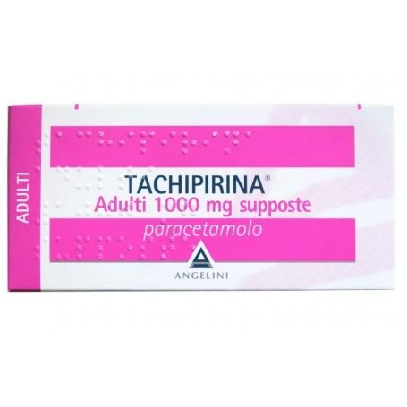 Tachipirina Adulti 10 supposte 1000mg Febbre Dolori