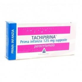 Tachipirina Prima Infanzia 10 supposte 125mg Febbre Dolori
