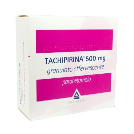 Tachipirina granulato effervescente 20 buste 500mg