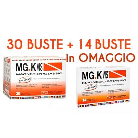 Mgk Vis 30 buste + 14 buste OMAGGIO Pool Pharma