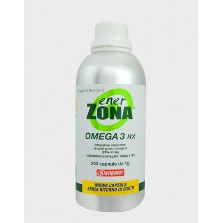 Enerzona Omega 3rx 240 capsule Enervit Colesterolo e Trigliceridi