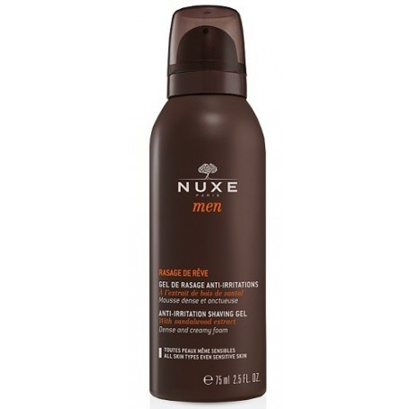 Nuxe Men Gel De Rasage anti/irritazione