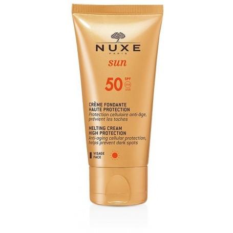 Nuxe Sun Creme Fondante Spf50 Protezione Viso 50ml