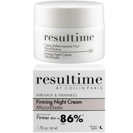Resultime Crema Notte Rassodante Microelastina Creme Raffermissante Nuit Micro-elastine