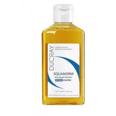Squanorm Forfora Grassa Shampoo 200ml Ducray