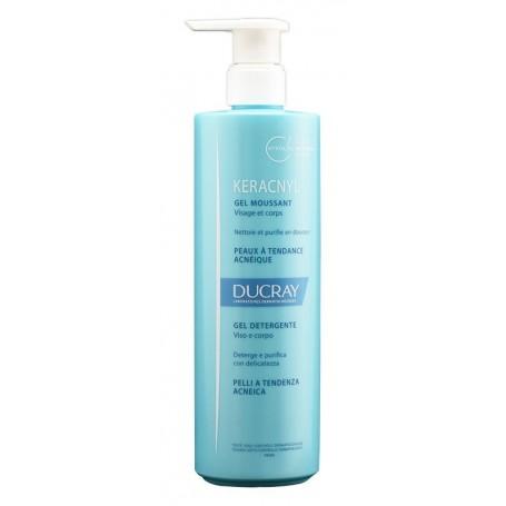 Keracnyl Gel Detergente 400ml Ducray Pelle Grassa a tendenza acneica