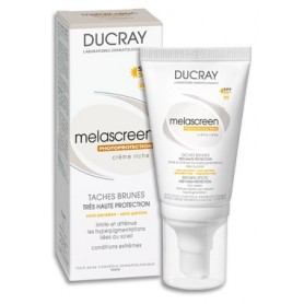 Ducray Melascreen Uv Crema Ricca 40ml Antimacchie SPF 50+