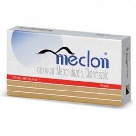 Meclon*10 Ovuli Vag 100+500mg