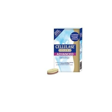 Cellulase Gold Advance 40 capsule Depurativo Anticellulite
