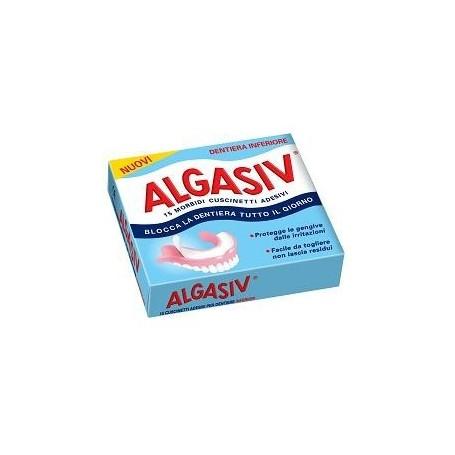 Algasiv Adesivi Protesi Inferiore 15pz