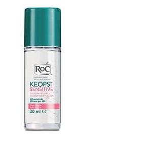 Roc Keops Deodorante Roll On Pelli Fragili