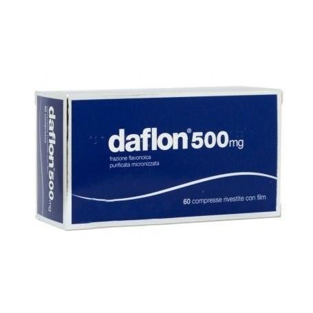 Daflon 60 compresse rivestite 500mg venotonici circolazione gambe