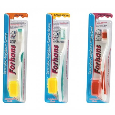 Forhans Twin pack 2 spazzolini Dentist