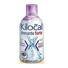Kilocal Drenante Forte Mirtillo 500ml Depurante