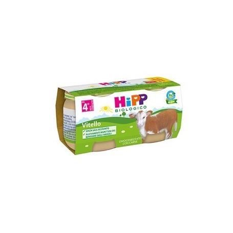 Hipp Bio Omogeneizzato Vitello 2x80g
