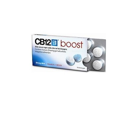 Cb12 Boost 10 chewing-gum Meda Pharma