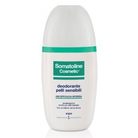Somatoline Cosmetic Deodorante Pelli Sensibili Vapo 75ml