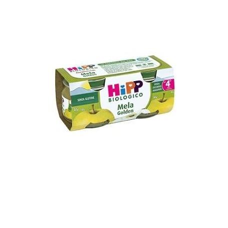 Hipp Bio Omogeneizzato Mele Gold 80g 2pz