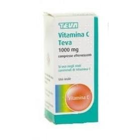 Vitamina C Teva 10 Compresse Effervescenti 1g