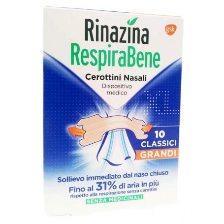 Rinazina Respirabene Classici Grandi 10 Cerotti