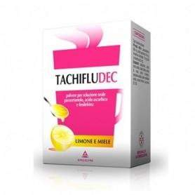 Tachifludec 16 buste Limone Miele influenza e raffreddore