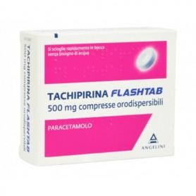 Tachipirina Flashtab 16 Compresse 500 mg Febbre e Dolori