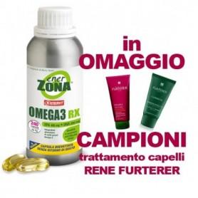 Enerzona Omega 3 Rx 240 capsule Colesterolo e Trigliceridi