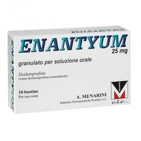 Enantyum 10 buste granulato 25mg Menarini