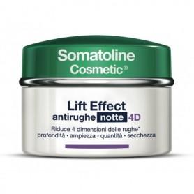 Somatoline C Lift Effect 4d Filler Crema Notte antirughe 50ml