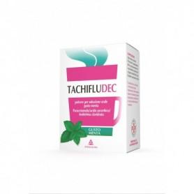 Tachifludec 10 buste Menta influenza e raffreddore