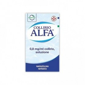 Collirio Alfa gocce 10ml 0,8mg/ml