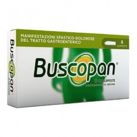 Buscopan 6 supposte 10mg Sanofi