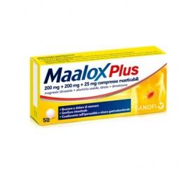 Maalox Plus 50 Compresse Masticabili